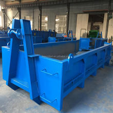 waste management recycling stackable hook lift container
