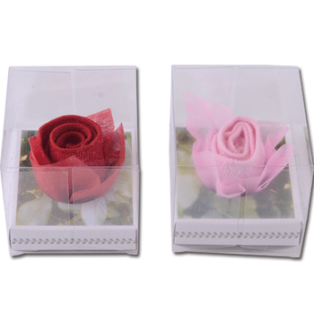 Microfibre Sweety Rose Flower Design Cake Towel
