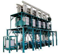 20 TPD Steel Structure Wheat Flour Milling Plant Wheat Flour Making Machinery Milling Machine