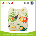 Alvababy Chicken Pattern Baby Cloth Diapers Wholesale Reusable Diapers
