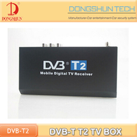 High quality DVB-T T2 digital tv converter boxes with AV output