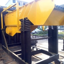 gold mining equipment vibrating grizzly feeder machine