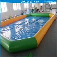 Inflatable water pool with PVC for swimming inflatable slide for pool