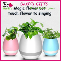 Smart Music Flowerpot Plastic Bluetooth Flower