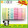 Alibaba China wheat washi tape wholesale stripe washi tape waterproof decorative duct tape