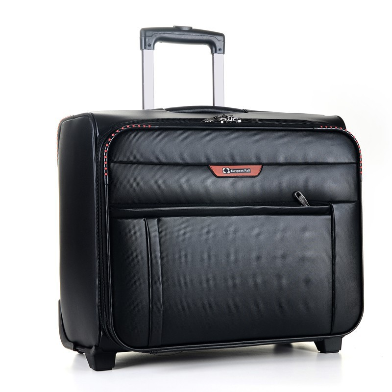 European taste trolly luggage traveling bags