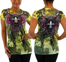 Sublimation T-shirts/All over sublimation printing t-shirt, ultra thin t-shirts