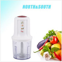 CE support plastic stainless steel mini electric food chopper/mixer