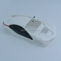 customize white plastic injection car body shell