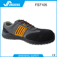 Sport made in china safety shoes plastic toe