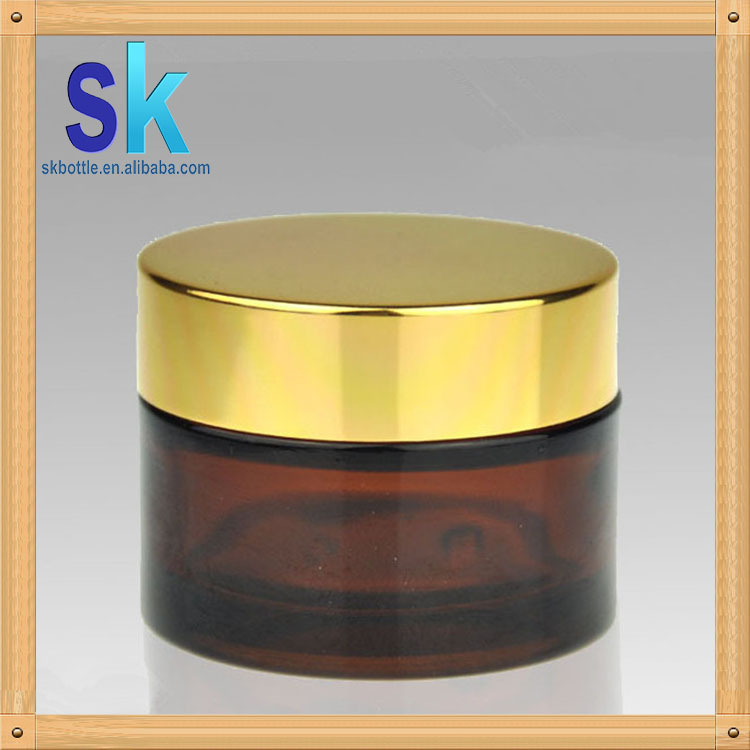 fast delievery glass cosmetic jar 30ml50ml100ml in the stock
