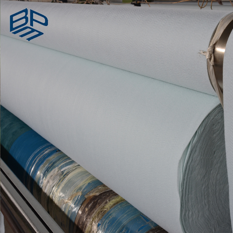 Non Woven Geotextiles Fabric High Strength With Weight of 150G m2 Reinforced