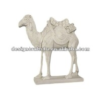 decorative resin camel figurine