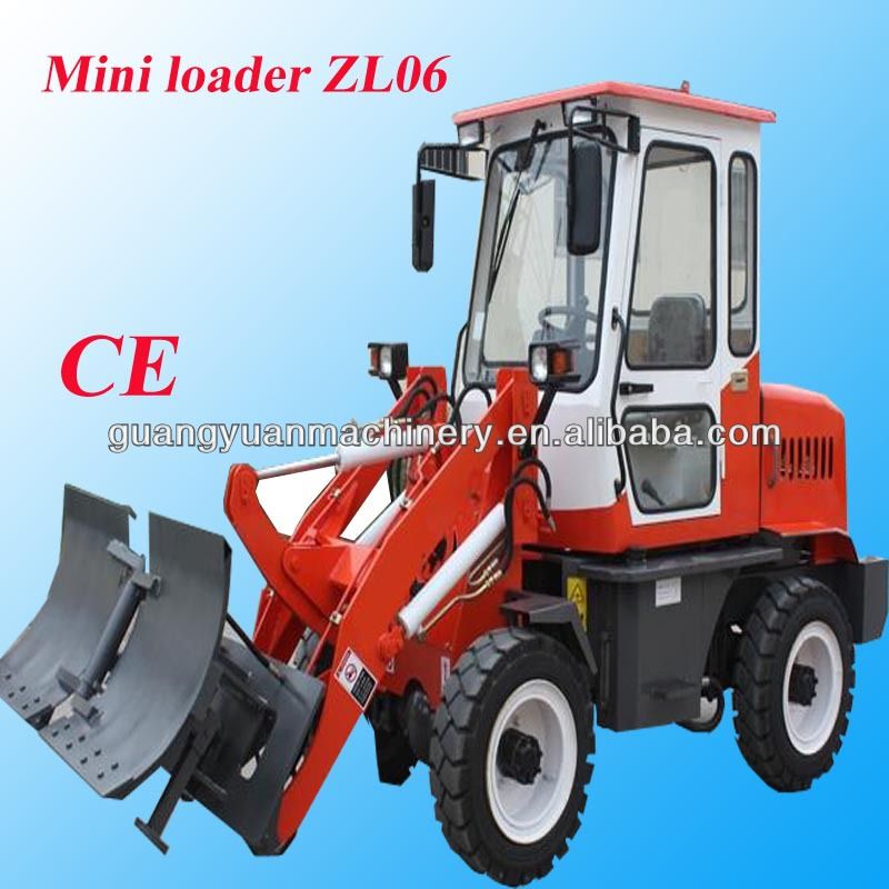 Old style articulated loader ZL06