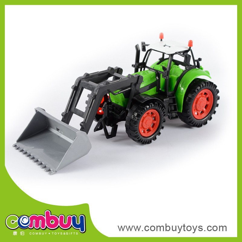 Hot sale plastic friction farm tractor toy