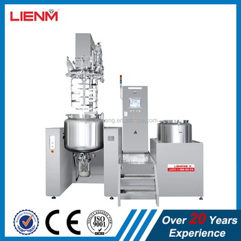 Cosmetic Mixer Body Cream Making Machine