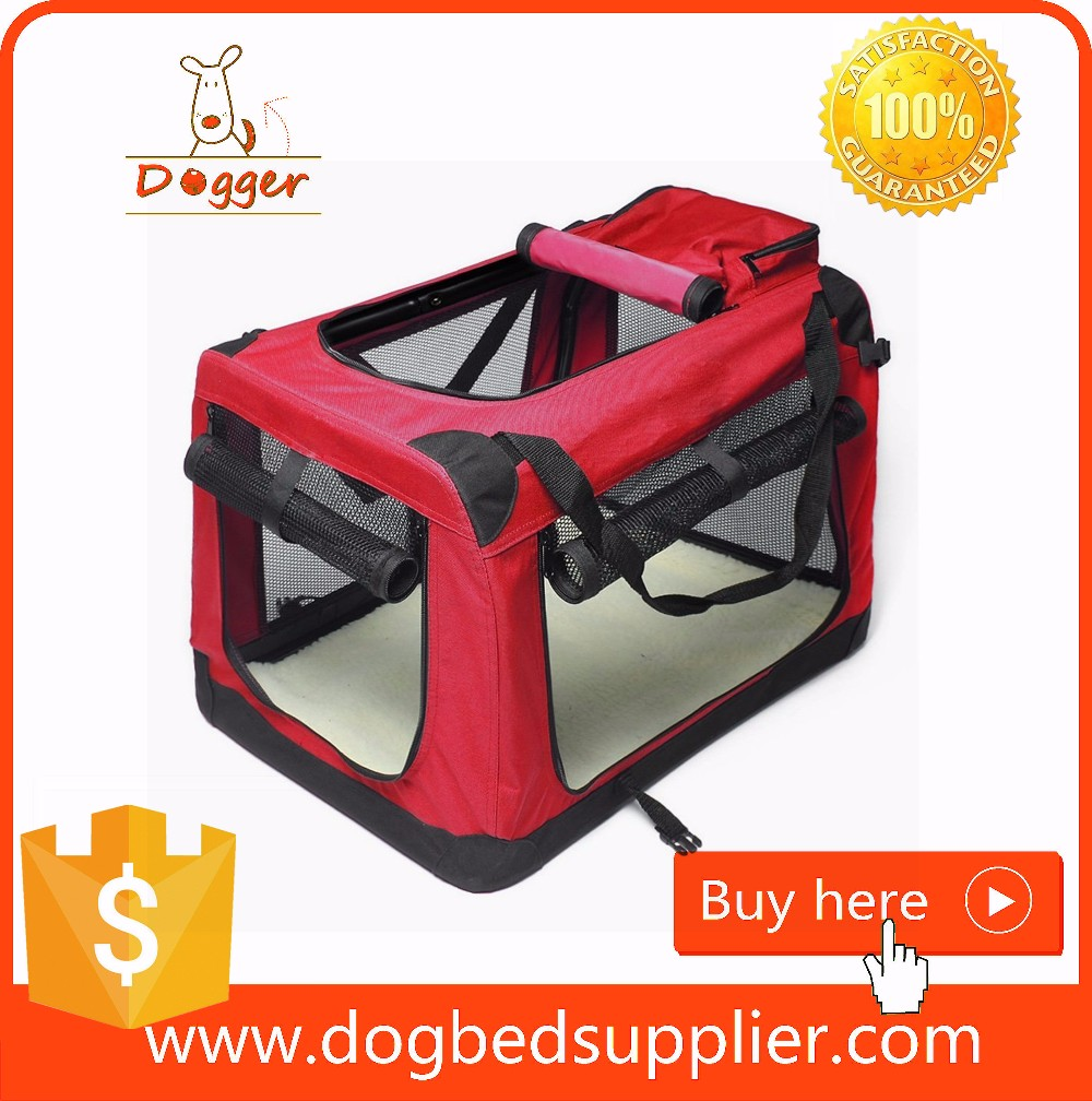 Foldable Fabric Dog Carrier With Cover