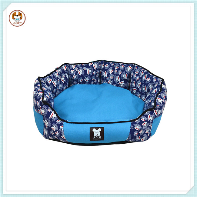Printed Canvas Heated Pet Bed Beauty Heated Pet Bed