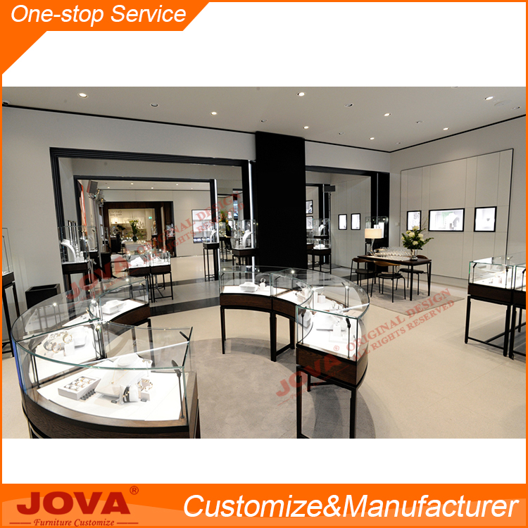 Fashion jewelry shop interior design jewellery display shop design idea