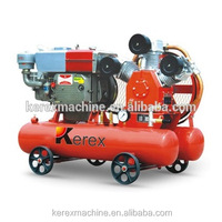2.85m3/min 0.5Mpa micro upright portable gas air compressor
