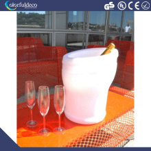 ice Beer bucket belaire rose Champagne bucket led light ice bucket