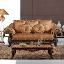 Cheap Vintage 3+2+1 Sofa Sets For African Market Guangdong Foshan Antique Furniture