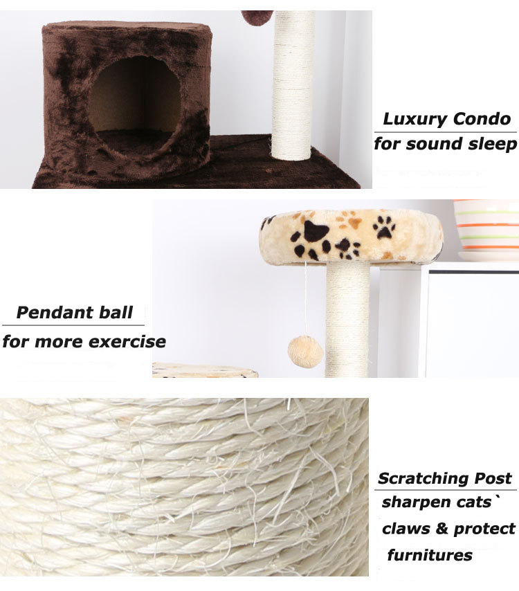 cat scratching tree post cat tree house diy cat tree