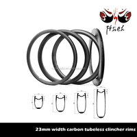 700C 38mm / 50mm / 60mm / 88mm deep 23mm wide carbon rims, factory carbon rims tubeless clincher
