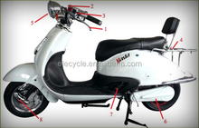 ELECYCLE EM40 60V/1200W High Quality Electric Motorcycle from Jiangmen, China