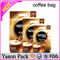 YASON vacuum coffee packaginggrains point pen coffee cooked pet mushrom bagscustom coffee sleeves