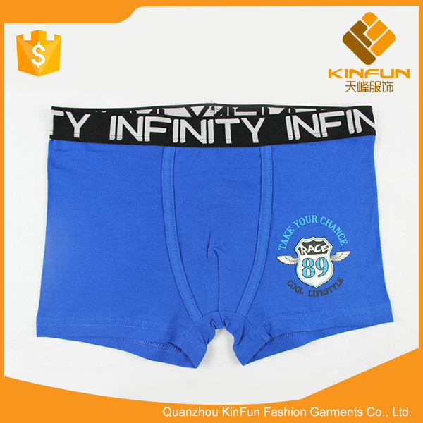 Children antibacterial anti - mite cotton breathable best boy underwear thong