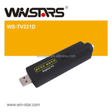 USB 2.0 DVB-T HDTV card,mini USB 2.0 ATSC Digital TV tuner card,Support US TV signals ATSC