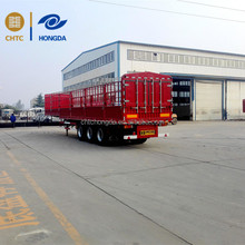 Straight Structure Stake Semi-trailer for sale for cargo transport