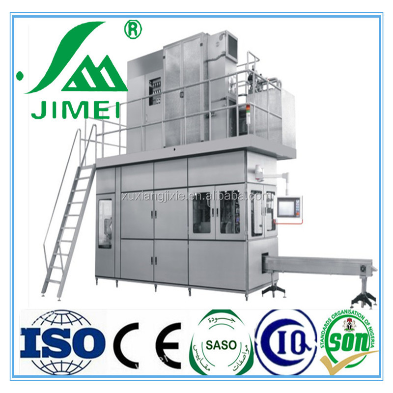 Aseptic filling machine for UHT milk carton