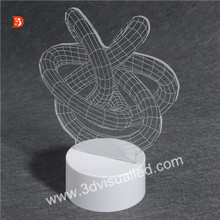 Energy Saving OEM Night Lamp 3D Night Lamp For Decoration Stand Night Lamp