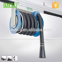 Exhaust Extraction System/Slide Hose Reel endurance exhaust for foundry