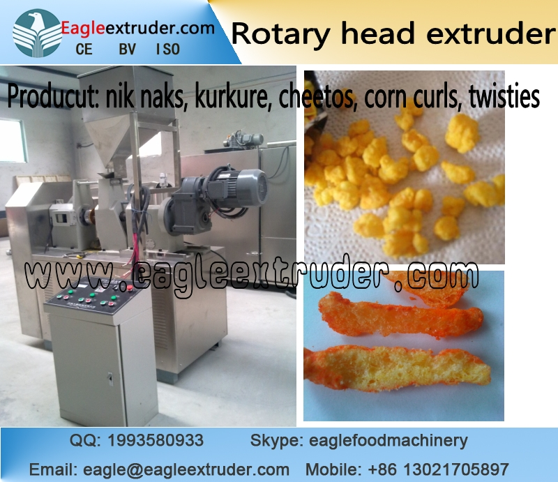Jinan Eagle breakfast cereals and savory snack food extruding machine