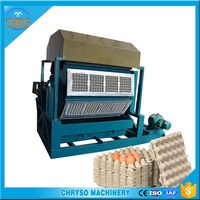egg tray machine India/paper egg tray making machine with CE