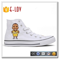 2016 new model boys chinese classic style white canvas shoes for Alibaba hotsale