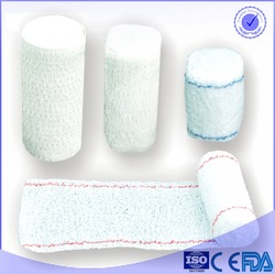 Factory hot selling 100% bleach non sterile crepe bandage