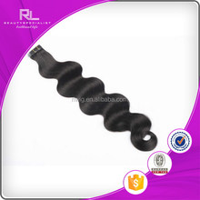Durable classical clear band tape hair extensions