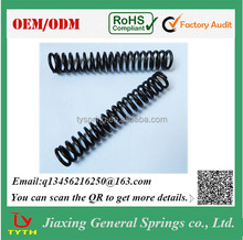 Manufacturer Custom Black Oxide Large Diameter Compression Spring