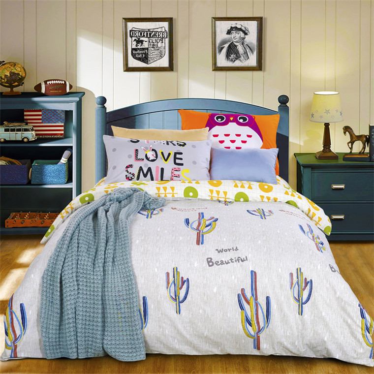 wholesale cartoon character bedding set made in india bedding set bed cover