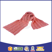 2016 hot selling wool cable knitting scarf
