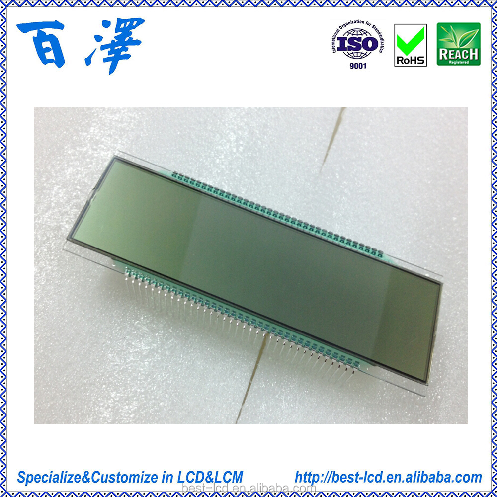 Customized tn lcd display for Electronic Scales LCD Manufacturer