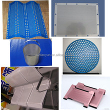 hexagonal hole Aluminium Perforated Mesh(perforated metal) for chair back, the seating for children, baskets