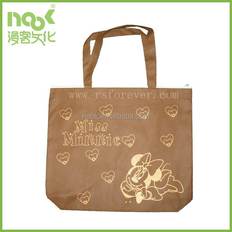 Good Quality Promotional Reusable PP Nonwoven Shopping Bag