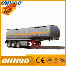 New design 50cbm oil tanker, methyl alcohol tankers trailers, methanol trailer tankers