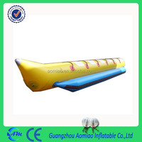 funny water sport inflatable flying banana float banana boat for sale