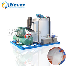 Koller 8 TPD flake ice making machine with dry ice